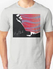 retro RAY CHARLES digital illustration  T-Shirt