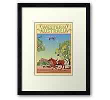 Art Deco Western Australia  Framed Print