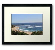 Yallingup WA beach Framed Print
