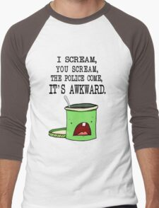 Mint Chocolate I-scream Men's Baseball ¾ T-Shirt