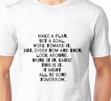 Make a Plan Unisex T-Shirt