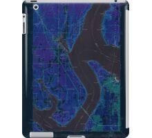 USGS Topo Map Washington State WA Gig Harbor 241266 1953 24000 Inverted iPad Case/Skin