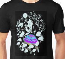 alice in fungi land Unisex T-Shirt