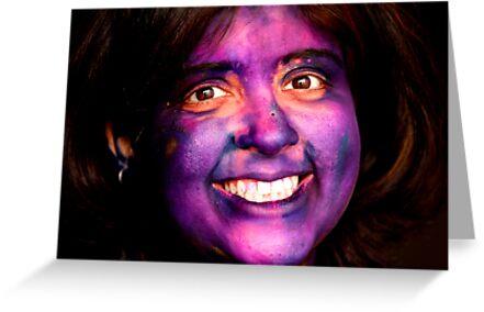 Festival of colors - Holi by Dhiraj Anand Khatri