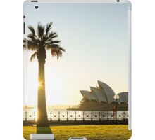 Hickson Road Reserve Sunrise iPad Case/Skin
