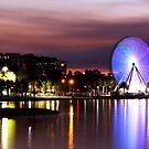 Geelong Waterfront Lights by Bree Schammer