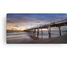 Ready - Jetty - Go Canvas Print