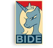 BIDE Canvas Print