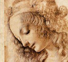 Leonardo Da Vinci by Ommik