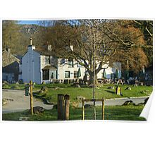 The Pub By The Village Green Poster