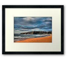Early Morning Palm Beach Framed Print