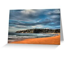 Early Morning Palm Beach Greeting Card