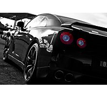 Nissan GTR Photographic Print