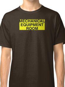 Mechanical Equipment Room Classic T-Shirt