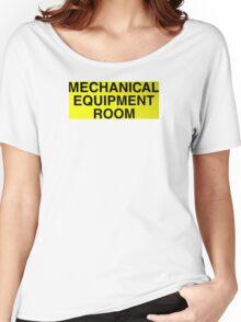 Mechanical Equipment Room Women's Relaxed Fit T-Shirt