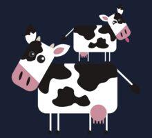 Cute Cows One Piece - Short Sleeve