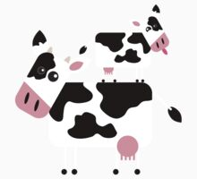 Cute Cows Kids Tee