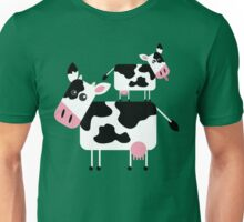 Cute Cows Unisex T-Shirt