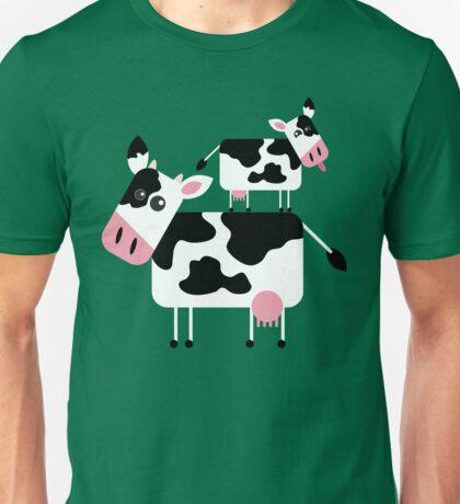 Cute Cows Unisex T-Shirt