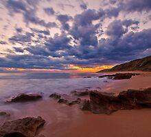 Point Lonsdale Sunset by Danielle  Miner