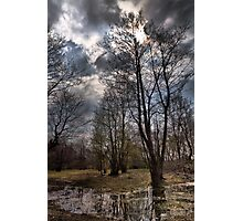 Wetland area in a small village Photographic Print