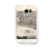 Panoramic Maps view of Evansville Ind 1880 Samsung Galaxy Case/Skin