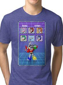 Mega Voltron Tri-blend T-Shirt