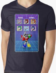 Mega Voltron Mens V-Neck T-Shirt