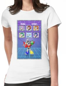 Mega Voltron Womens Fitted T-Shirt