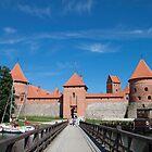 Trakai Castle by Cláudia Fernandes
