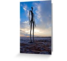 Sunrise Lake Ballard Greeting Card