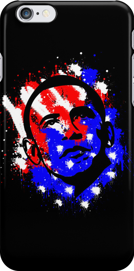 Obama Election 2012 Paints Drop by Alessandro Ionni