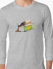 Surprise Me Airedale Long Sleeve T-Shirt