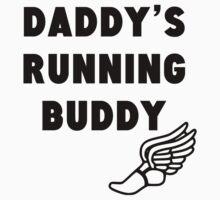 Daddy's Running Buddy Baby Tee