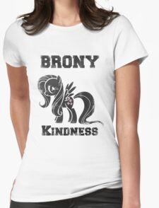 BRONY Fluttershy Womens Fitted T-Shirt