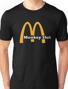 Monkey Slut Is Blown Unisex T-Shirt