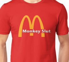 Monkey Slut Is Blown Unisex T-Shirt