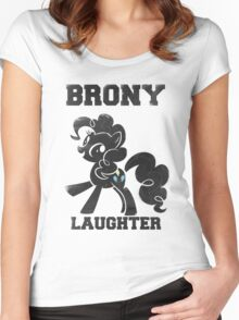 BRONY Pinkie Pie Women's Fitted Scoop T-Shirt