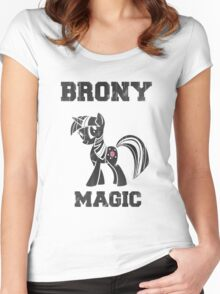 BRONY Twilight Sparkle Women's Fitted Scoop T-Shirt