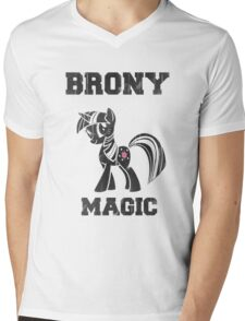BRONY Twilight Sparkle Mens V-Neck T-Shirt