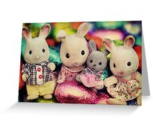 The Easter Bunnies Greeting Card