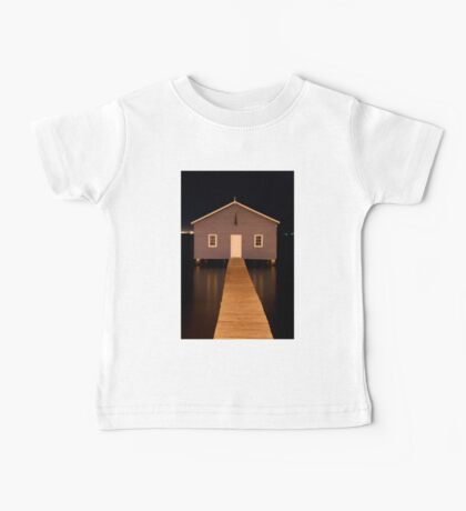 little boatshed on the river Baby Tee