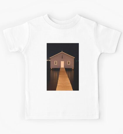 little boatshed on the river Kids Tee