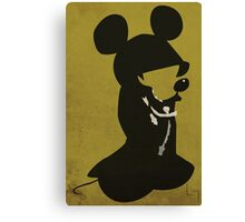King Mickey Canvas Print