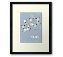 Nicotine Framed Print