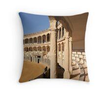 The Ronda bullring or bullfighting arena Throw Pillow