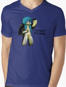Penguin Pride ^-^ Mens V-Neck T-Shirt