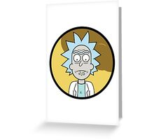 Drooling Scientist Greeting Card