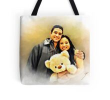 I Just Want to be Your Little Teddy Bear. Tote Bag