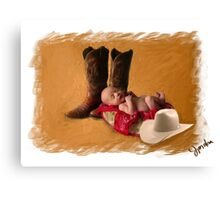 Cowboy Up! Canvas Print